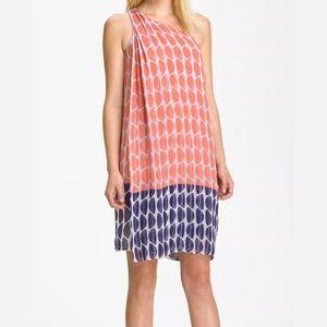 Diane Von Furstenberg Liluye One shoulder dress!